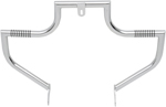 Lindby LINBAR Front Highway Bars (Chrome) 1991-2016 H-D FXD models w/ mid-controls