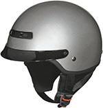 Z1R NOMAD Motorcycle Half Helmet (Silver)