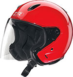 Z1R Ace TRANSIT Open Face Motorcycle Helmet (Red)