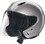 Z1R Ace TRANSIT Open Face Motorcycle Helmet (Silver)