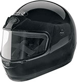 Z1R Kids Youth Snow Snowmobile Helmet (Black)