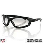 Bobster Fat Boy Sunglasses (Black Frame, Anti-Fog Photochromic Lens)