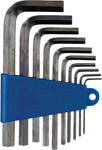 Moose Racing 10-Piece Hex Wrench Set (Blue/Natural) 1.5mm-10mm | 3812-0043
