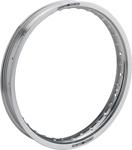 Moose Racing Rear Aluminum Rim (Silver) 2.50