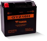 Yuasa GYZ High Performance Maintenance-Free AGM Battery (GYZ16H) YUAM716GH