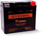 Yuasa GYZ High Performance Maintenance-Free AGM Battery (GYZ20HL) YUAM720GH
