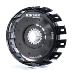 Hinson Racing Billetproof Clutch Basket w/Kickstarter Gear & Cushions (H489)