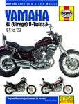 HAYNES Repair Manual - Yamaha Virago XV535 XV700 XV750 XV920 XV1000 XV1100 (1981-2000)