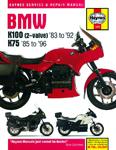 HAYNES Repair Manual - BMW K100 2-valve (1983-1992) and K75 (1985-1996)
