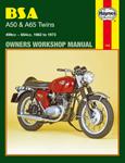 HAYNES Repair Manual - BSA A50 and A65 Twins (1961-1973)