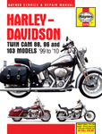 HAYNES Repair Manual - Harley-Davidson Twin Cam 88 Softail (2000-2010), Dyna Glide (1999-2010), and Electra Glide/Road King and Road Glide (1999-2010)