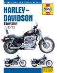 HAYNES Repair Manual - Harley-Davidson Sportster XL, XLH, XLCH, XLS, XLX 883/1000/1100/1200 (1970-2010)