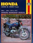 HAYNES Repair Manual - Honda CB400 and CB550 (1973-1977)