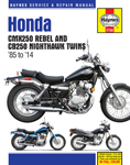 HAYNES Repair Manual - Honda CMX250 Rebel & CB250 Nighthawk Twins 1985-2014