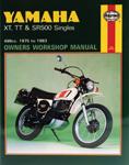 HAYNES Repair Manual - Yamaha XT500, TT500 and SR500 Singles (1975-1981)