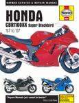 HAYNES Repair Manual - Honda CBR1100XX Super Blackbird (1997-2007)