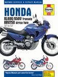 HAYNES Repair Manual - Honda  XL600V/XL650V Transalp (1987-07) XVR750 Africa Twin (1990-03)