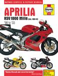 HAYNES Repair Manual - Aprilia RSV 1000 Mille (1998-2003) and RSV Mille R (1999-2003)