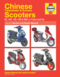 HAYNES Repair Manual - Chinese, Taiwanese, Korean Scooters Twist and Go Models 50cc-200cc 2004-2009