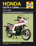 HAYNES Repair Manual - Honda CB750 and CB900 dohc Fours (1978-1984)