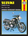 HAYNES Repair Manual - Suzuki GS850G/GS850GL Fours (1978-1983)