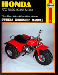 HAYNES Repair Manual - Honda ATC70, 90, 110, 185, 200 ATVs (1971-1982)