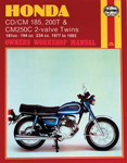 HAYNES Repair Manual - Honda CD/CM 185, 200T CM250C 2-valve Twins 181cc-194cc-234cc (1977-1983)