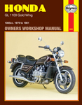 HAYNES Repair Manual - Honda Gold Wing GL1100 (1979-1981)