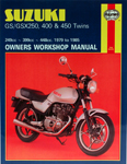 HAYNES Repair Manual - Suzuki GS Twins GS250 (1980-1982) and GS 450 (1979-1985)