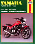 HAYNES Repair Manual - Yamaha XJ650 and XJ750 (1980-1984)