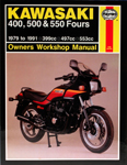 HAYNES Repair Manual - Kawasaki KZ550 (1980-1984) and ZX550 (1984-1985)