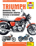 HAYNES Repair Manual - Triumph Bonneville, T100, Speedmaster, America, Thruxton and Scrambler 2001-2015