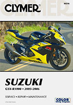 Clymer Repair Manual for Suzuki GSXR 1000 GSXR1000 2005-2006