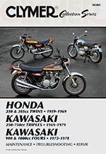 Clymer Repair Manual for Vintage Japanese Street Bikes