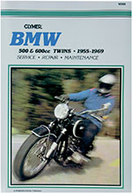 Clymer Repair Manual for BMW 500 and 600cc Twins 1955-1969, R50 R60 R69