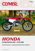Clymer Repair Manual for Honda XL/XR/TLR 125-200 1979-2003