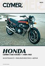 Clymer Repair Manual for Honda CB900-1100 Fours 1980-1983