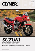 Clymer Repair Manual for Suzuki GSF600 and GSF600S 1995-2000