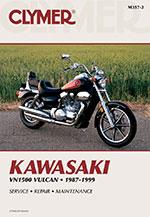 Clymer Repair Manual for Kawasaki Vulcan 1500 1987-1999
