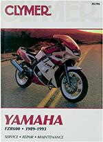 Clymer Repair Manual for Yamaha FZR600 1989-1993