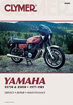 Clymer Repair Manual for Yamaha XS750, XS750 II 1977-1979; XS850, XS850S 1980-1981