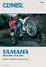 Clymer Repair Manual for YAMAHA IT125 IT175 IT200 IT250 IT400 IT425 IT465 IT490