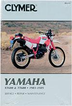 Clymer Repair Manual for Yamaha XT600 1984-1989, TT600 1983-1986