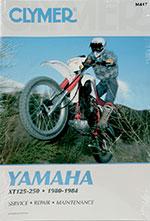 Clymer Repair Manual for Yamaha XT125 1982-1983, XT200 1982-1983, XT250 1980-1984