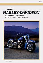 Clymer Repair Manual for Harley-Davidson Panhead 1948-1965