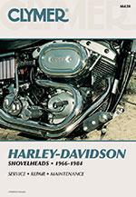 Clymer Repair Manual for Harley-Davidson Shovelhead 1966-1984
