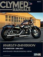 Clymer Repair Manual for Harley-Davidson XL Sportster 2004-2011