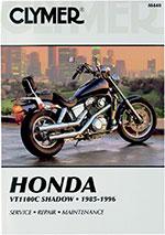 Clymer Repair Manual for Honda VT1100C Shadow 1985-1990, 1992-1996