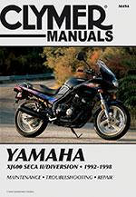 Clymer Repair Manual for Yamaha XJ600 Seca II/Diversion 1992-1998