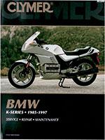 Clymer Repair Manual for BMW K-Series 1985-1997